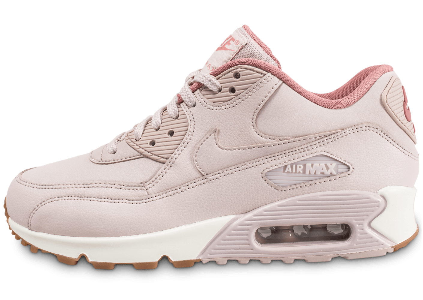 new concept 7823b eeff1 Nike Air Max 90 rose - Chaussures Chaussures - Chausport
