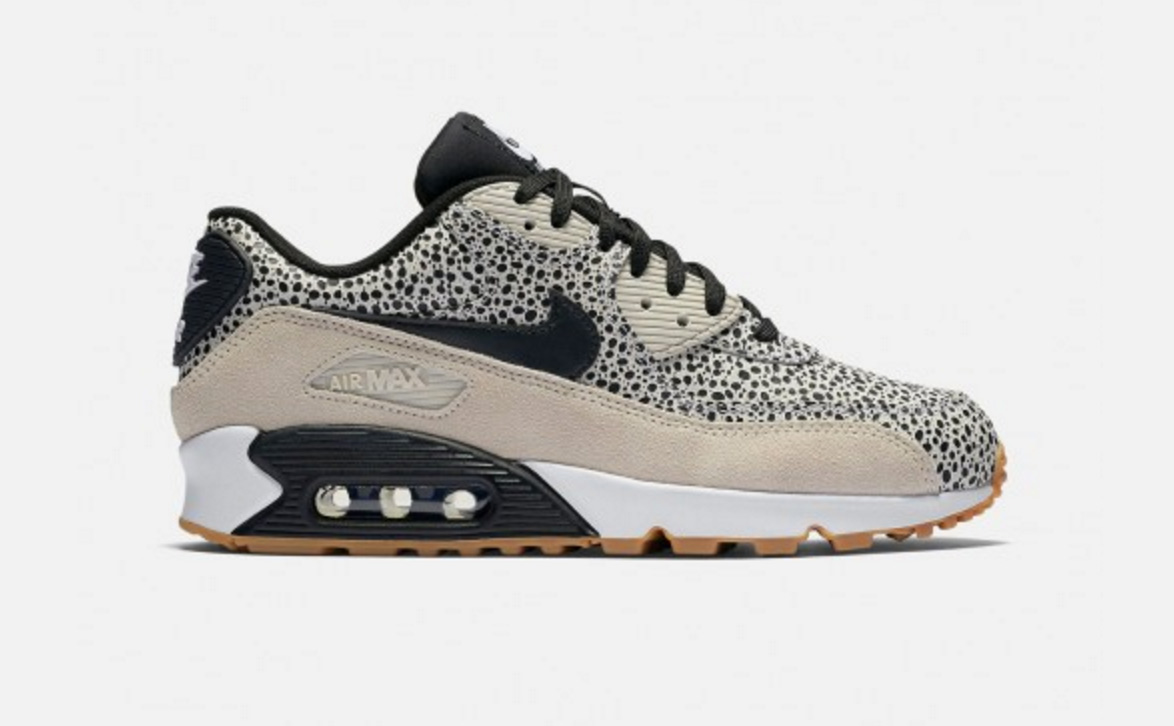 nike air max 90 safari, nike-wmns-air-max-90-safari-white-black-
