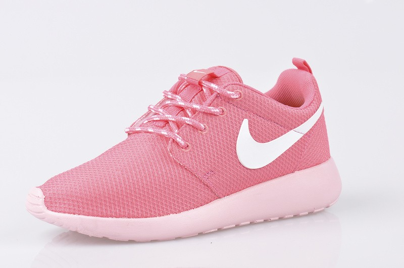 chaussures de sport e651e f823d nike roshe run rose pale